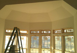 Custom plastering by Atlantic Drywall